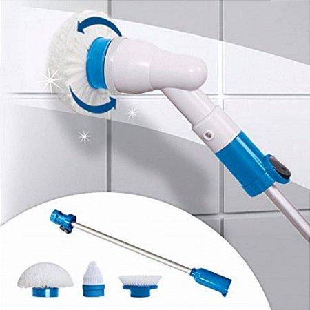 Mop Esfregão Limpeza Prática Power Scrub Scrubber 360