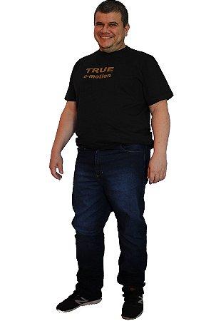 Calça jeans Strech Masculina Axl Azul 63-Stone Blue