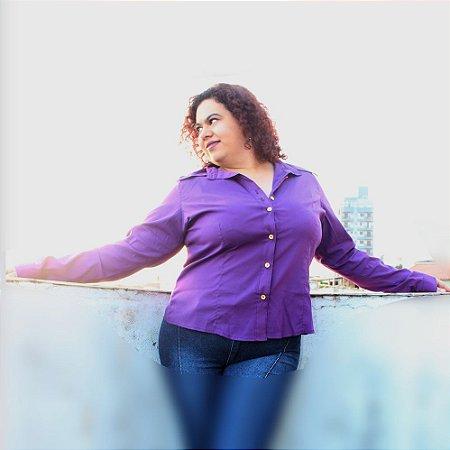 Camisa Manga Longa algodão com elastano WATSON Ultra Violet