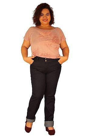 Calça Skinny Jeans Strech TRINITY Intense Dark