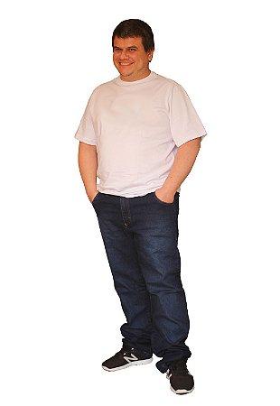 Calça Jeans ANDERSON Masculina Lavagem Stone Blue