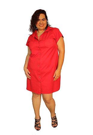 Vestido Chamise Marylu Vermelho