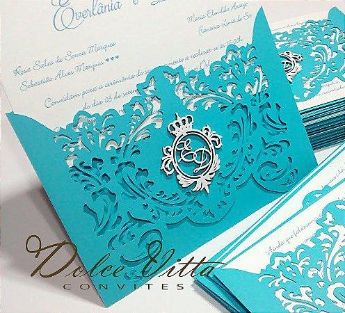 Convite de Casamento Modelo Calimo - cod. 309