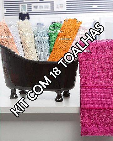 Toalhas Social - Kit com 18