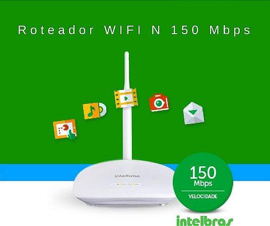 Roteador WiFi 150Mbps Intelbras IWR 1000N