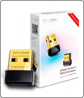Adaptador Wireless TP-LINK NANO 150 MBPS TL-WN725N