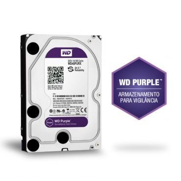 HD WD Purple Surveillance 2TB IntelliPower 64MB Cache SATA 6.0Gb/s - WD20PURX