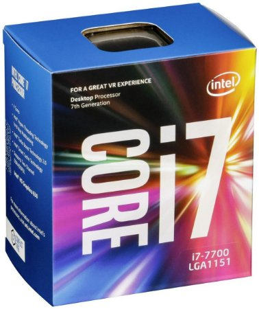 Processador Intel Core i7-7700 LGA 1151 Kaby Lake 7º Geração, Cache 8MB, 3.6GHz (4.2GHz Max Turbo), Intel HD Graphics BX80677I77700