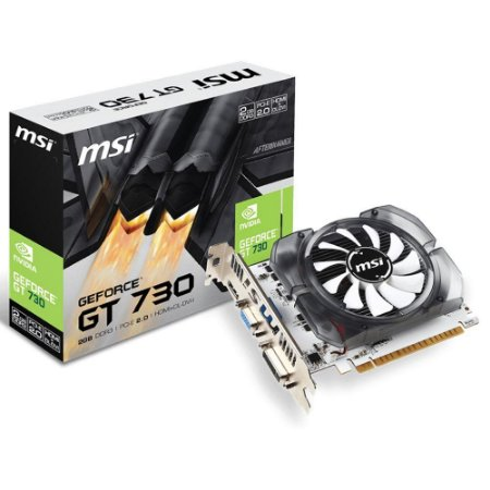 Placa de Vídeo MSI Geforce GT 730 2GB DDR3 128bits