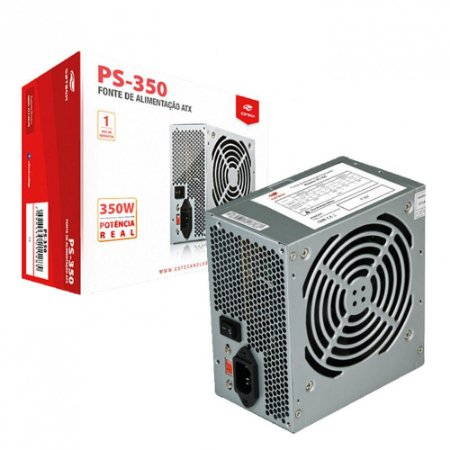 Fonte C3Tech 350W S/cabo PS-350