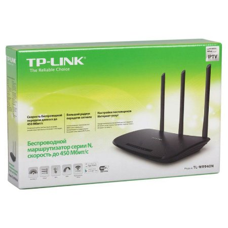 Roteador TP-Link Wireless N 450 Mbps - TL-WR940N