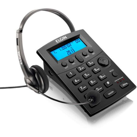 Telefone com Headset Elgin HST-8000