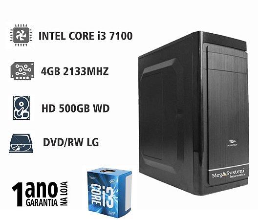 CPU MEGA MEDIUM i3 3MB 3.9GHZ / 4GB DDR4 2400MHZ / 1TB