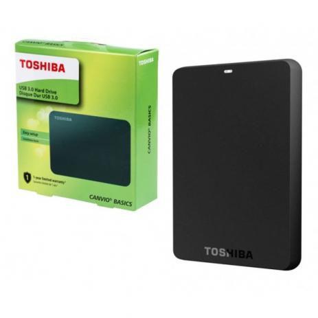 HD Externo TOSHIBA Canvio Basics 1TB USB 3.0