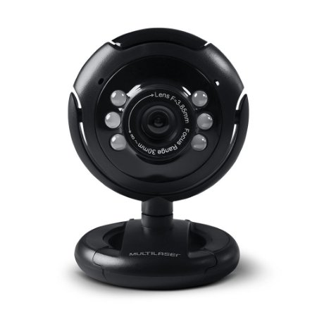 WebCam Multilaser 16.0 Megapixel (Interpolados) WC045