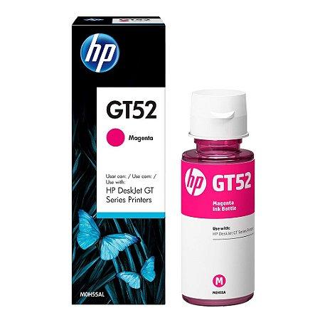 Refil de Tinta Original HP GT52 Magenta M0H55AL - DeskJet GT 5822