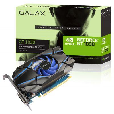 Placa de Vídeo GALAX GT 1030 2GB GDDR5 64b