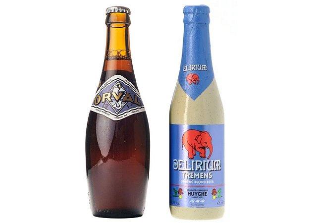 Dupla Belgas - Orval + Delirium - 330ml