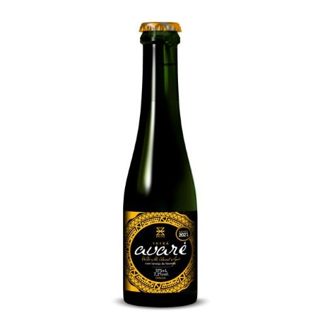 Cerveja Zalaz Ybyrá Avaré Barrel Aged Wild Ale - 375ml