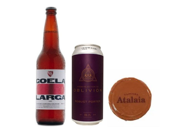 Combo Catimba Goela Larga + Dogma From Rejection IV e Doce de Leite Atalaia - 2 unidades.