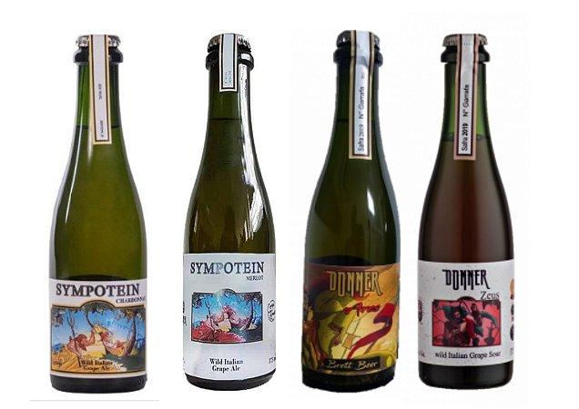 Cervejas Donner - Wil Grape Ale - 375ml - 4 unidades.