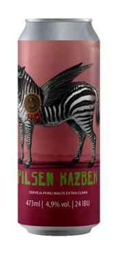 Cerveja Bodoque Pilsen Kazbek - 473ml