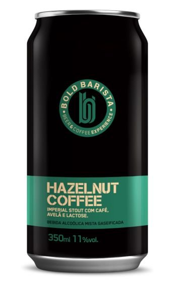 Cerveja Bold Barista Hazelnut Coffee - 350ml