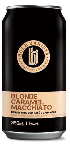 Cerveja Bold Barista Blonde Caramel Macchiato - 350ml