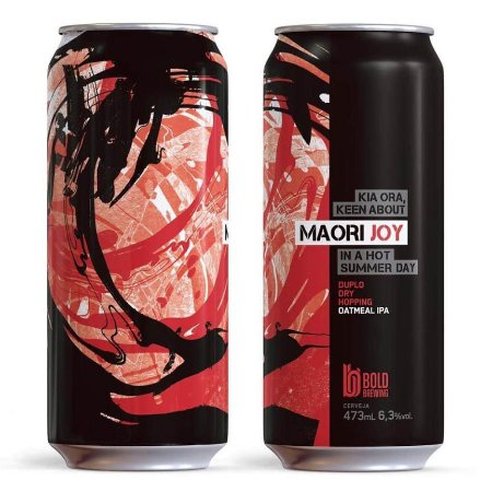 Cerveja Bold Maori Joy - 473ml