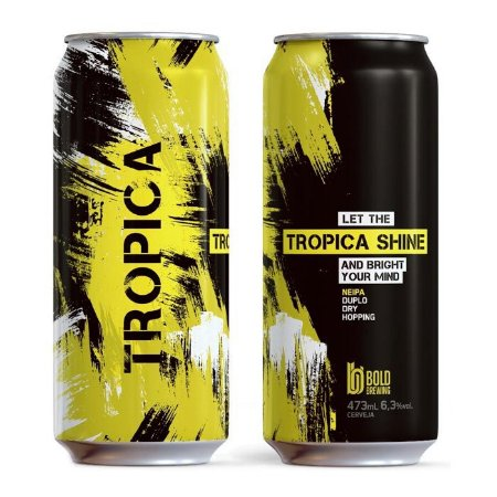 Cerveja Bold Tropica Shine - 473ml