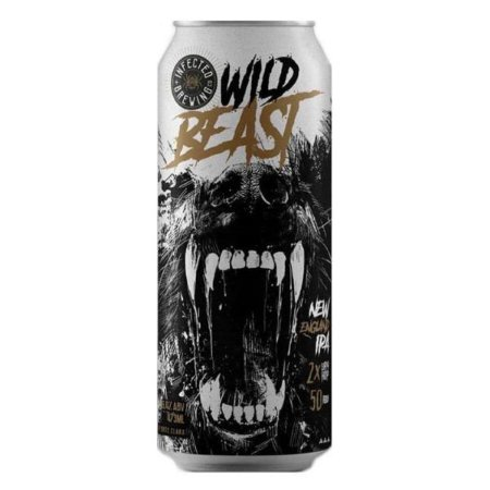 Cerveja Infected Brewing Wild Beast - 473ml