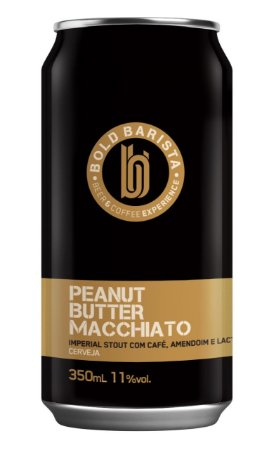 Cerveja Bold Barista Peanut Butter Macchiato - 350ml