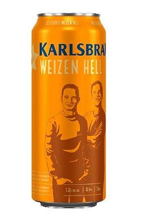 Cerveja Alemã Karlsbrau Weizen Hell - 500ml