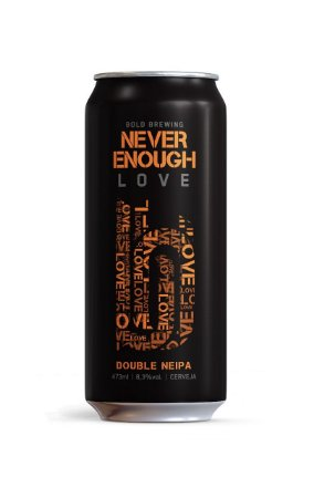 Cerveja Bold Never Enough Love - 473ml