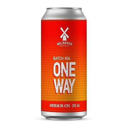 Cerveja Molinarius One Way Batch #4 473ml