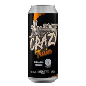 Cerveja Locomotive Crazy Train - 473ml
