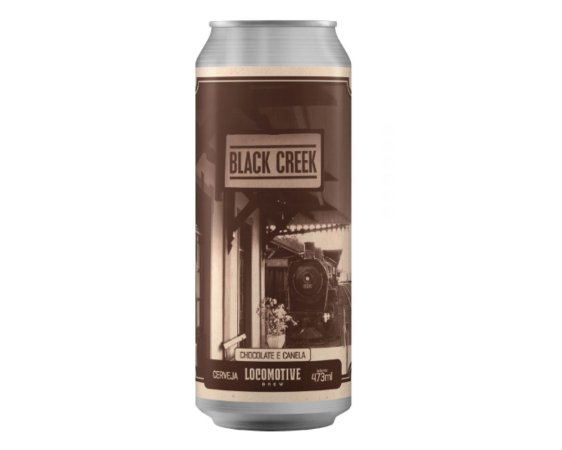 Cerveja Locomotive Black Creek chocolate/canela - 473ml