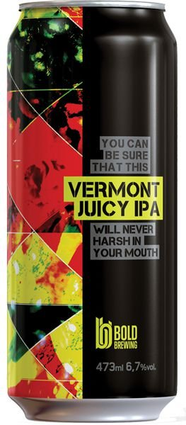 Cerveja Bold Vermont Juicy IPA - 473ml