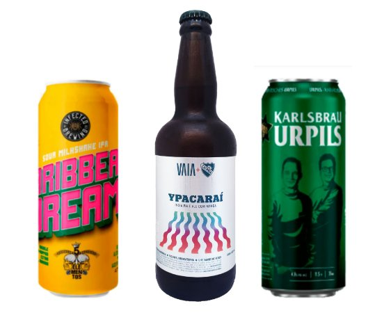 KIT YSSY: Ypacaraí + Infected Caribbean Dream + Karlsbrau Urpils - 3 unidades.