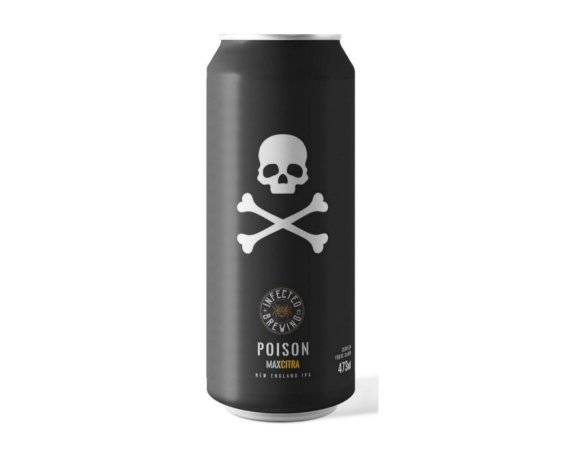 Cerveja Infected Brewing Posion Max - 473ml