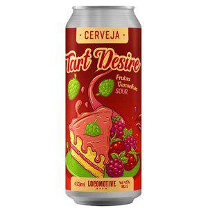 Cerveja Locomotive Tart Desire Frutas vermelhas - 473ml