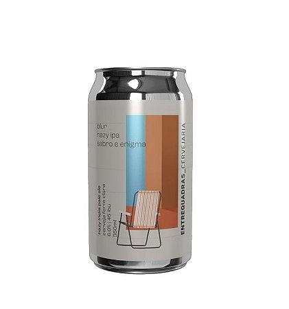 Cerveja Entrequadras Blur Hazy IPA Sabro e Enigma - 350ml