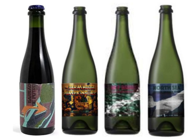 KIT Promocional Cervejaria ZAPATA Mix de estilos - 4 unidades 375ml