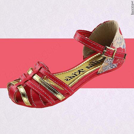 Sandália Infantil Tiras Pink - 636