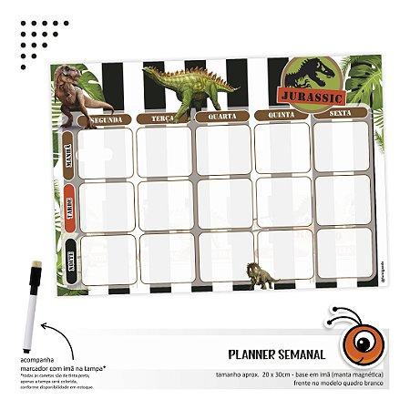 Planner Semanal - Dino
