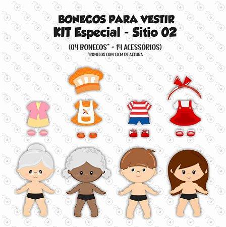 Especial Sítio 02 - Bonecos de vestir
