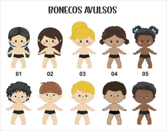 Bonecos(as)  AVULSOS(AS)