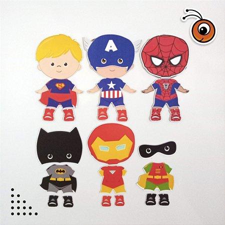 Especial Herois - Bonecos de vestir