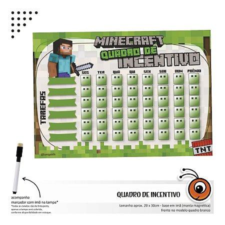 Quadro de Incentivo - Minecraft