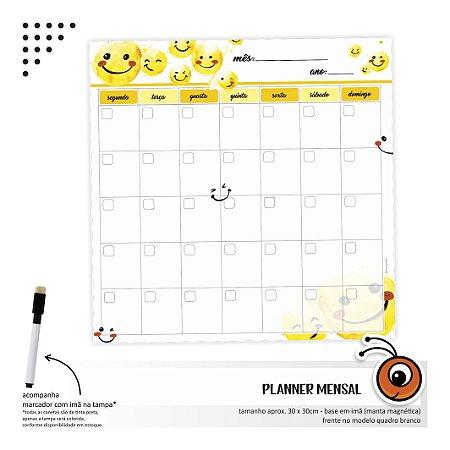 Planner Mensal - Emoji